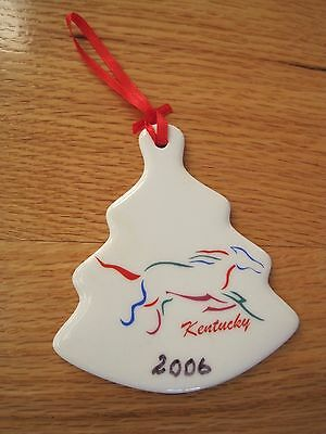 Kentucky Christmas Tree Ornament Souvenir