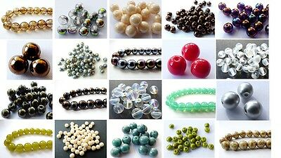4 (mm) 5 (mm) 6 (mm) 10 (mm) CZECH GLASS ROUND SPACER BEADS