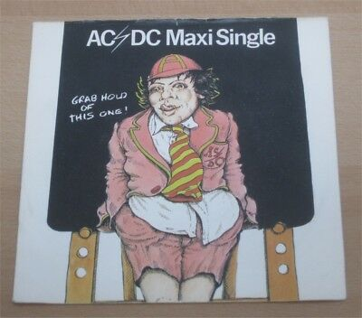 """AC/DC: Dirty deeds done dirt cheap 7"""" EP Schoolboy-Sleeve 1977"""