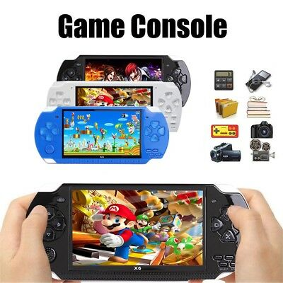 4.3'' 8GB 32Bit 10000 Games 1200 MAH Handheld Game Console Video Game X6 Player