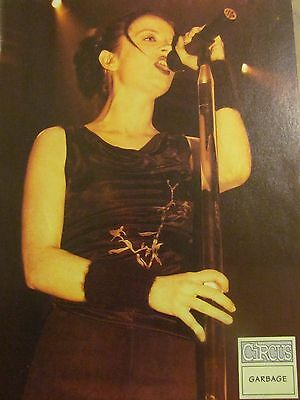 Garbage, Shirley Manson, Third Eye Blind, Double Full Page Vintage Pinup