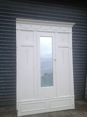Victorian Fitted Wardrobe Fascade Mirrored Door Matching Fireplace Available