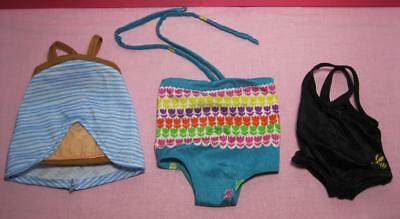 "fits American Girl/Battat 18"" Doll Clothes-HANDMADE SWIMSUIT/DRESS SWIMMING SUIT"