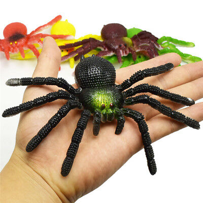 Simulation Spider Insects Model Toys Tricky Scary Toys Halloween Children's Toys