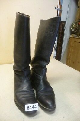 8444. Alte Militärstiefel Stiefel Old Military Leather Boots