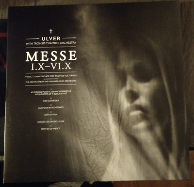 Ulver With Tromsø Chamber Orchestra - Messe I.X-VI.X   LP