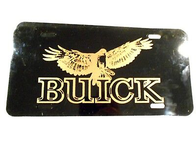 Buick Metal License Plate