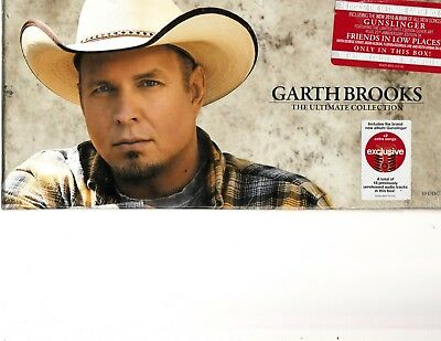 Garth Brooks - The Ultimate Collection (10 CD Box Set) Sealed