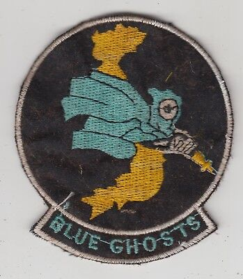 US Army F Troop 8th Air Cavalry Vietnam Patch Blue Ghosts UH-1 AH-1