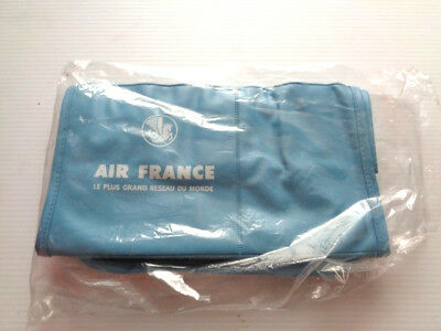 Vintage Air France Airlines Vinyl Travel  Bag- New Old Stock