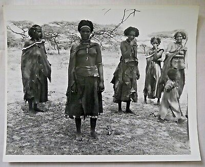 Group of 6 Vintage 20th c Photographs of NATIVE AFRICAN WOMEN (Some Nude Images)