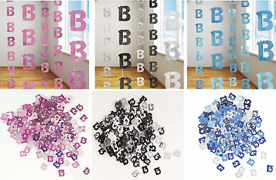 13th Birthday Decorations Hanging String Ceiling Party Room Wall Confetti Banner