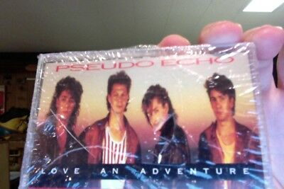 Pseudo Echo- Love An Adventure- new/sealed cassette tape