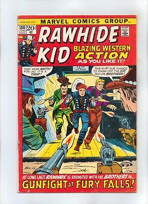 RAWHIDE KID No 100 Blazing  Western Action!  ORIGIN Retold and Expanded