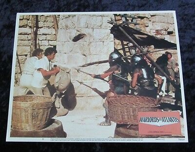 Warlords Of Atlantis lobby card # 8 - Peter Gilmore, Doug McClure