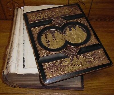 Antique 1890s Family Bible w/ Rust & Dodd Family History - As Is Harbeson DE