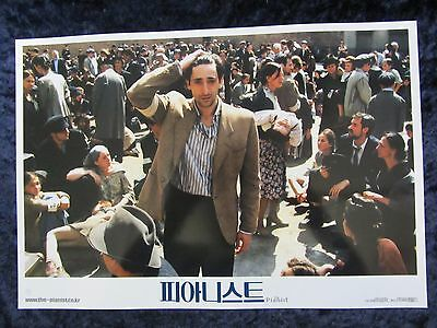 THE PIANIST  lobby card # 2 -  ADRIEN BRODY, ROMAN POLANSKI