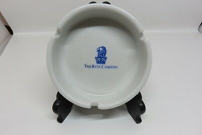 VINTAGE The Ritz Carlton Ashtray Porcelain Hotel Cigarette Ash Tray