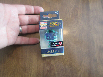 Funko Pop Pocket Keychain League Legends Thresh Exclusive Gamestop