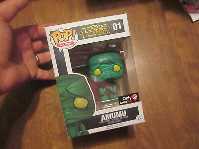 Funko Pop Games League Legends Amumu # 01 Exclusive Gamestop Read