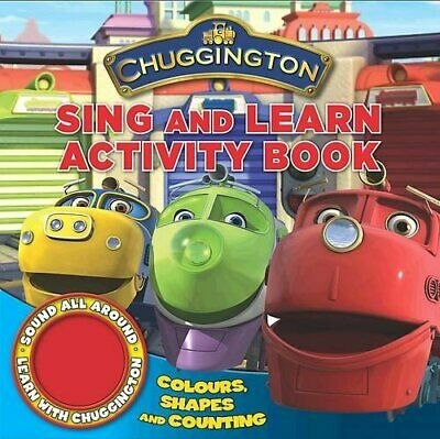 Chuggington Single Sound Shaped Book Sing and Learn... by Chuggington Board book