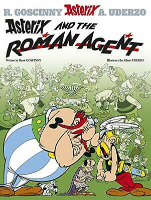 Asterix and the Roman Agent: Album 15 by Uderzo, Albert Paperback Book The Cheap