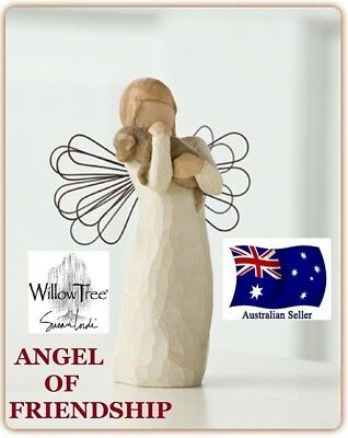 Willow Tree ANGEL OF FRIENDSHIP Figurine By Susan Lordi By Demdaco NEW IN BOX