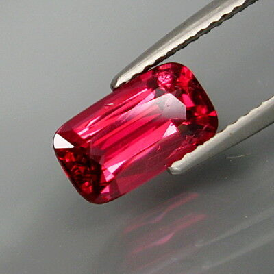 1.76Ct.Very Good Color! Natural Red Spinel MaeSai,Thailand Nice Shape!