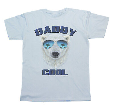 DADDY COOL Dad T-Shirt Fathers Day Funny Mens T Shirt Gift Top Birthday Present