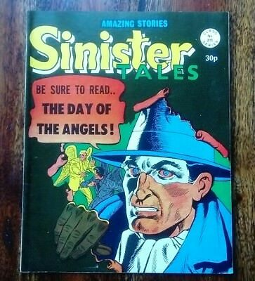 SINISTER TALES Issue #215 comic in VGC (Alan Class) Rare/Collectable  Offers