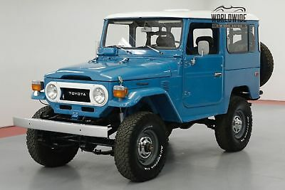 Toyota Land Cruiser Fj40 Frame Off Restoration Rare Color Collector Call 1-877-422-2940! Financing! World Wide Shipping. Consignment. Trades. Ford