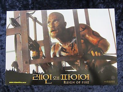Reign Of Fire lobby card # 1 - Matthew McConaughey, Christian Bale