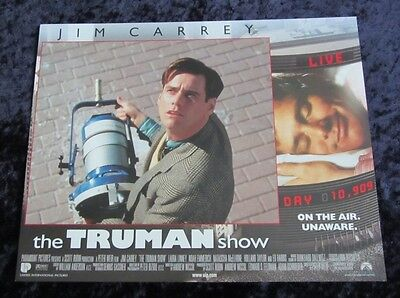 THE TRUMAN SHOW lobby card #3 JIM CARREY - Original Lobby Card - FREE SHIPPING
