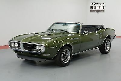 Pontiac Firebird Convertible 400 4-Speed Call 1-877-422-2940! Financing! World Wide Shipping. Consignment. Trades. Ford