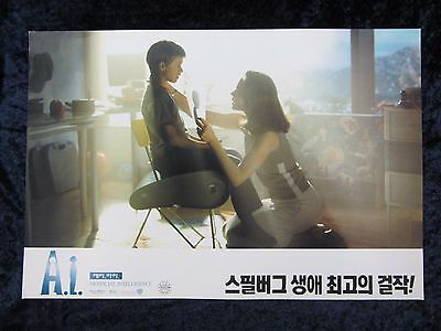 ARTIFICIAL INTELLIGENCE lobby card # KR3 -  JOEL HALEY OSMENT, STEVEN SPIELBERG