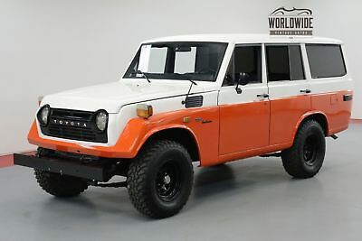 Toyota Land Cruiser Fj55 Restored Ac Rare Vintage 4X4 Ps Pb Fj40 Call 1-877-422-2940! Financing! World Wide Shipping. Consignment. Trades. Ford