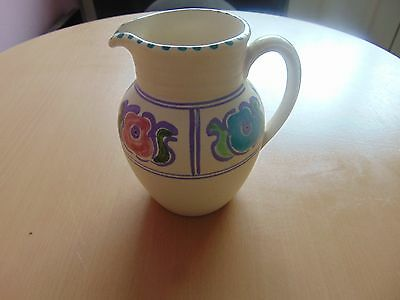 Vintage Honiton of Devon - Pretty Small Jug - Beautiful Colours