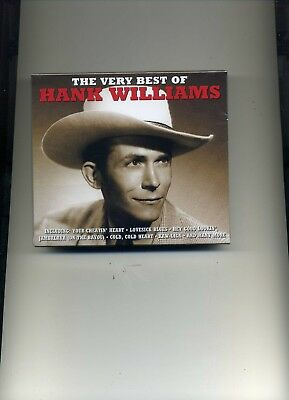 Hank Williams - The Very Best Of - 2 Cds - New!!