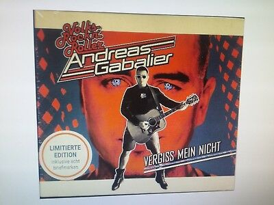 ANDREAS GABALIER - VERGISS MEIN NICHT | LIMITED EDITION + 8 Briefmarken | neu