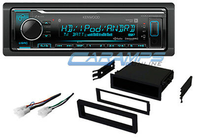 New Toyota Kenwood Stereo W Install Dash Kit W Bluetooth & Aux/Usb & Xm/Hd Radio