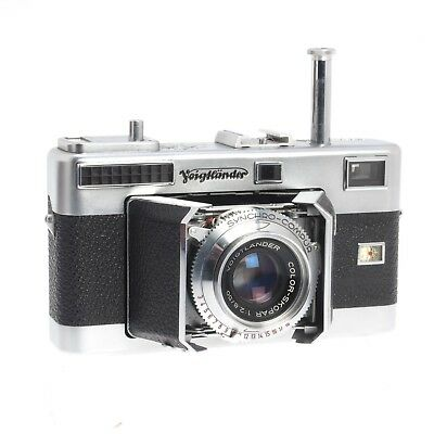 Voigtlander Vitessa L 35MM Folding Rangefinder Camera - Vintage Collectible