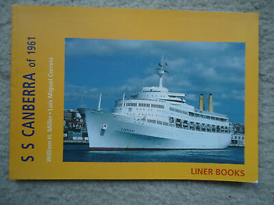 P&0 - Orient Lines - ss Canberra - Liner Books Series - 1997