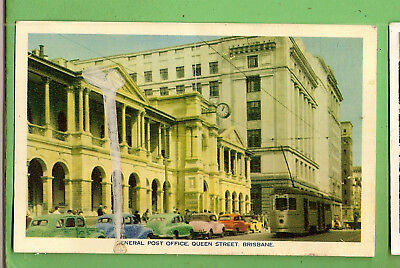 #D.  Australian Postcard - General Post Office, Queen Street, Brisbane