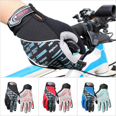 Full Finger Cycling Bike Gloves Motorcycle Motorcross Offroad Sports