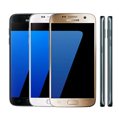 "5.1"" Samsung Galaxy S7 G930A (AT&T) 32GB 12MP Android 4G LTE Unlocked Smartphone"