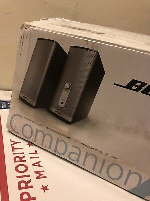 Bose Companion 2 Series II Multimedia Speaker System NEW SEE!