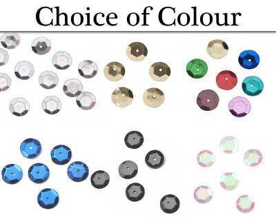 10mm Shiny Craft Cup Sequins Trimits Pack Of 120