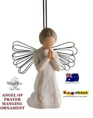 ANGEL OF PRAYER HANGING ORNAMENT Willow Tree Figurine By Susan Demdaco Lordi NEW