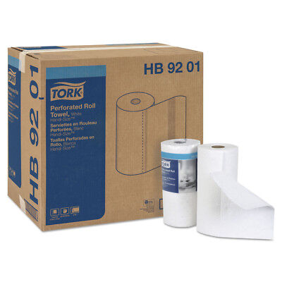 Tork Handi-Size Perforated Roll Towel 2-Ply 120/roll White 30/ctn HB9201 NEW