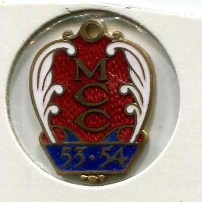 Melbourne Cricket Club Members badge 1953 - 54 Country
